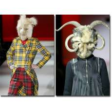 Cibeles Runway Full of Models With Bizarre Looks