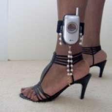 The Cell Phone Strap for Strippers