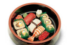 Indulge with Sushi Themed Chocolates