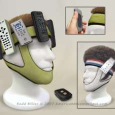 Use Your Head To Find Lost Remotes (Bizarre)