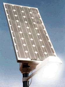 Solar Powered LED Streetlights