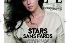 Stars Sans Photoshop - Elle France Shows Natural Female Beauty