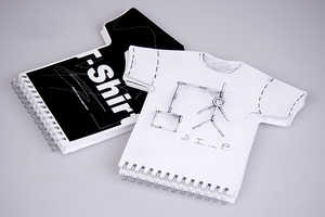 T-Shirt Shaped Sketchbook Helps Designers Visualize Final Product