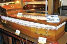 Chilled Coffins - Wooden Caskets With Built-In AC Ensure a Cool Burial