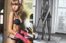 Hot Housewives - Italian Vanity Fair Brings Fun to House Chores