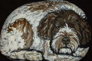 From Obama Dog Paintings to Portuguese Water Dogs Pet Rocks