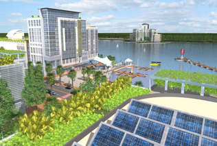 Solar Cities - Zero-Emission Babcock Ranch in Florida Models Eco Sustainablity