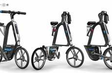 Solar Cycling - 'The Solar Man' Bicycle by Chen Weiping Does the Pedaling For You