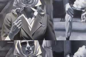 Dawn Dudek Transforms Film Scenes Into Dramatic Art on Canvas