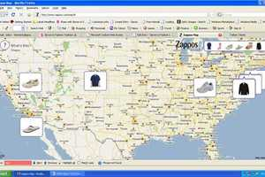 Real Life Fashion Stalking Begins With The Zappos Map