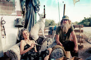Claire Marti's Images of the Slab City Desert Society