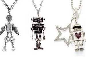 Robot Jewelry Adorns The Necks of Earthlings Everywhere