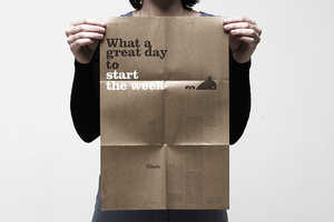 'What a Great Day to Start the Week' Poster Uses Positivity