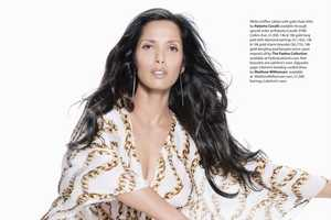 Padma Lakshmi Rocks The Caftan Look For Ocean Drive Magazine