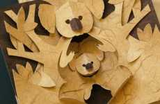 DIY Pop-Ups - Kirigami Paper Cutting Patterns for Crafting Projects