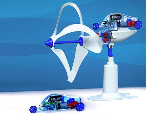 Wind-Powered Kids' Toys - Tamiya 'Loopwing' Car Blends Fun and Eco-Friendliness