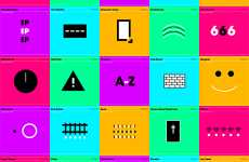 Pictogram Album Covers - 'The Modernist Edition' by Illumination Ink Remixes Classics