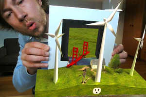 GE Uses Augmented Reality to Promote Solar & Wind Smart Grid Technology