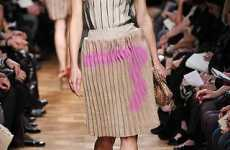 Burlap Graffiti Fashion