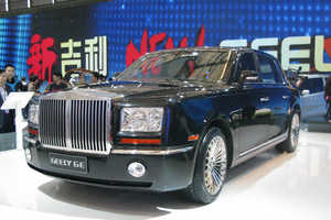 The Geely Excellence Limousine Rolls Out at Shanghai Auto Show