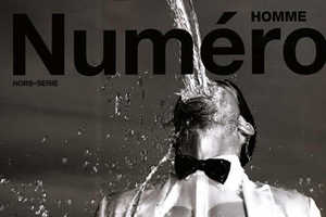Albert Reed Gets Wet for Numero Homme Magazine