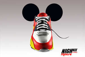 NighKee Series By French Artist Phoks Inspired by Mickey Mouse