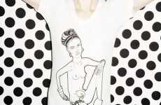 Celebrity Sketch Tees - Henry Holland SS/09 Tees Bare Illustrations of the Famous