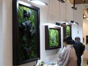 Living Wall Art - Hokkaido Sanyu Corp Creates The River Re Wall Made of Moss