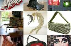 100 Recycled Art Pieces