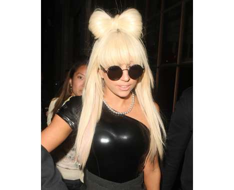 How To Make Hair Bows For Teenagers. #1 Hair Bows. Lady Gaga Goes