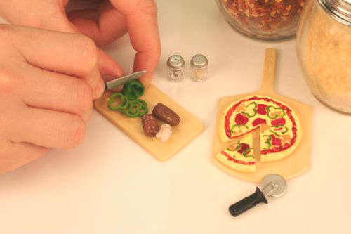 Miniature Toy Worlds