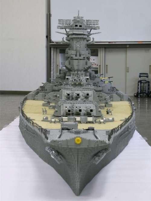 Huge LEGO Ships