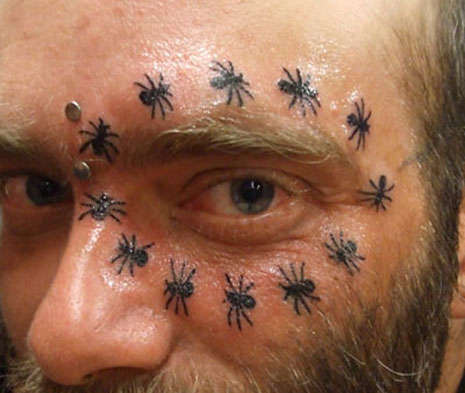 Frightening Facial Tattoos