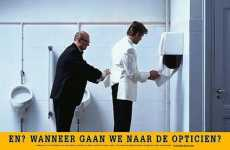 Cheeky Optician Ads - Dutch Campaign Suggests It May Be Time for a Vision Checkup