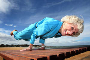 At 83, Bette Calman Does 'The Peacock' Like a Breakdancer