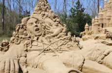 Stellar Sand Sculptures