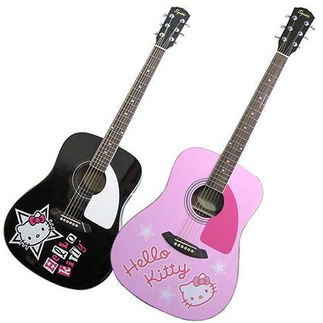 Hello Kitty Guitars