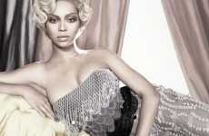 Glamorous Hollywood Portraits - Beyonce by Tom Munro in Vogue Italia