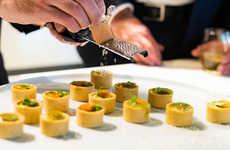 Vegan Caviar Alternatives - Matteo Bertoli Launched the Vegan Saffron Bar 'Lingotto Di Zafferano'