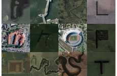 Google Maps Typography - Rhett Dashwood Turns Aerial Shots Into the Alphabet