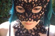 Lacy Gothic Accessories - TotusMel Tatted Masks and Jewelry