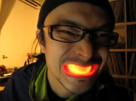 LED Mouth Grills