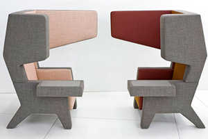 The Prooff Ear Chair Makes Privacy Look Good