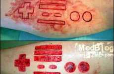 Geeky Battle Scars - Nerdy Scarification For Really Dedicated Technology Fans