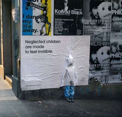 Faux Child Billboards - Australian 'Stop Child Abuse Now' Campaign From JWT
