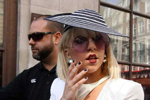 Lady Gaga's Cup & Saucer Are Eccentric, Eco and Famous