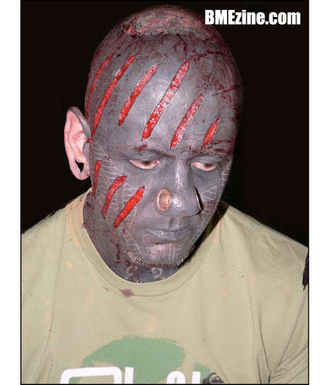 Facial Scarification