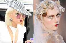 Kewpie Doll Lips - Lady Gaga Rocks The Faux Pursed Pucker Lipstick Look