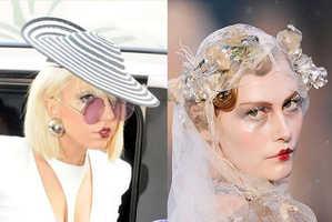 Lady Gaga Rocks The Faux Pursed Pucker Lipstick Look