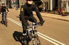 Affectionate Euro Safety - Denmark Police, Bicyclists, Huggs and Helmets